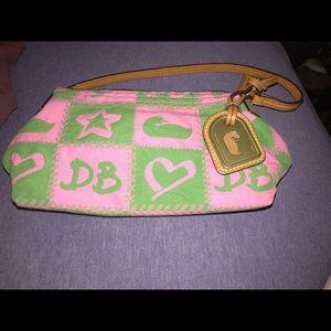 Dooney and Burke small wristlet purse!!